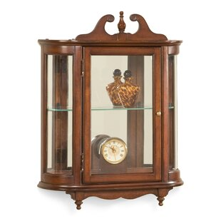 Kallen Wall-Mounted Curio Cabinet