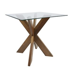 Barnhart X-Base Solid Wood Dining Table Modern