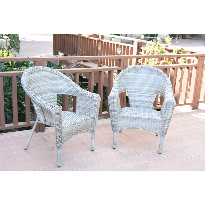 Kentwood Resin Wicker Patio Chair Without Cushion