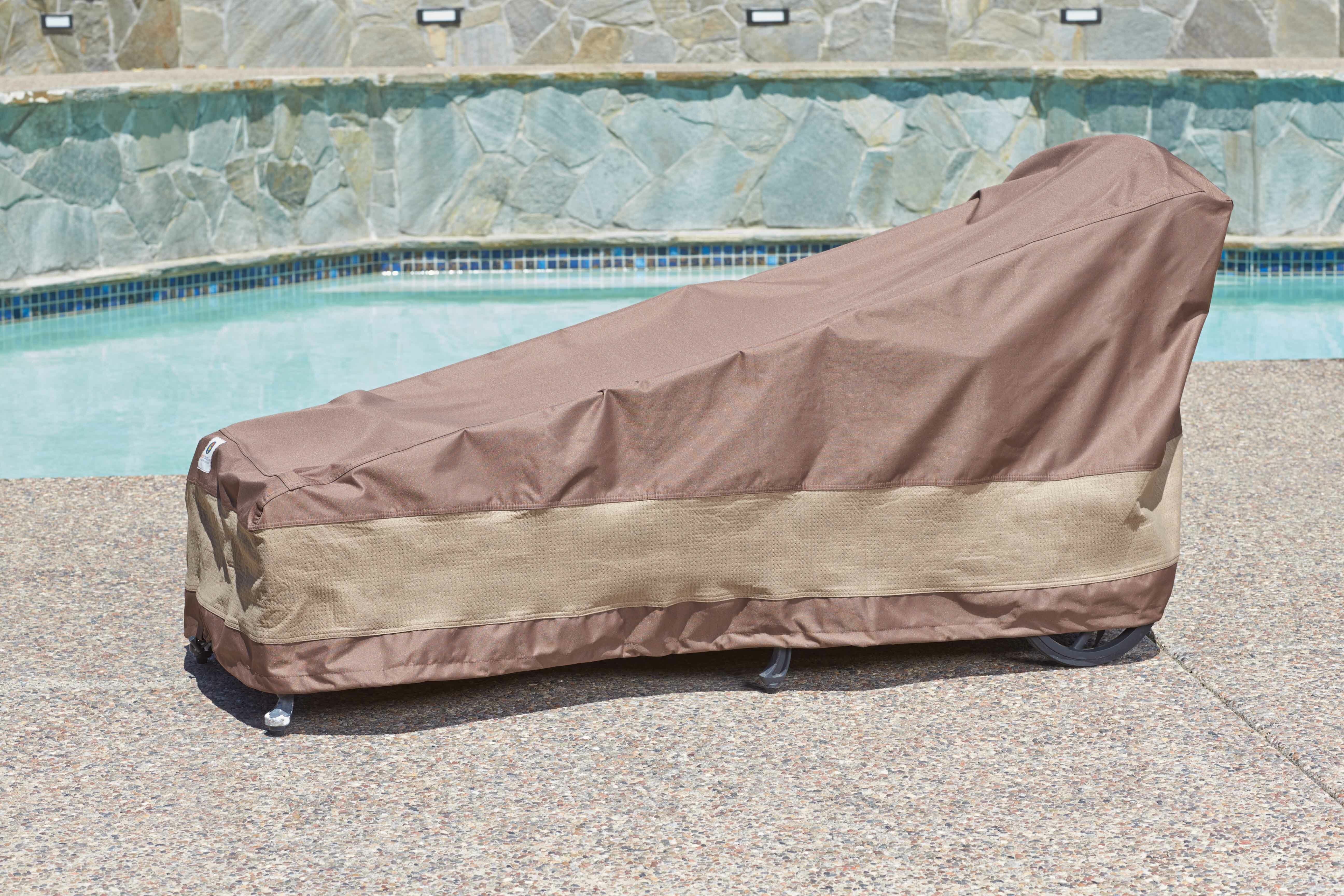 Freeport park patio chaise lounge cover with buckle fastener reviews wayfair