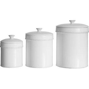 Joss Main Essentials 3 Piece Kitchen Canister Set