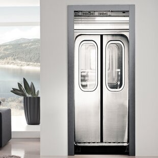 Lift Door Wall Decal