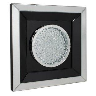db94ed163bf Winston Floating Crystal Circle Wall Mirror