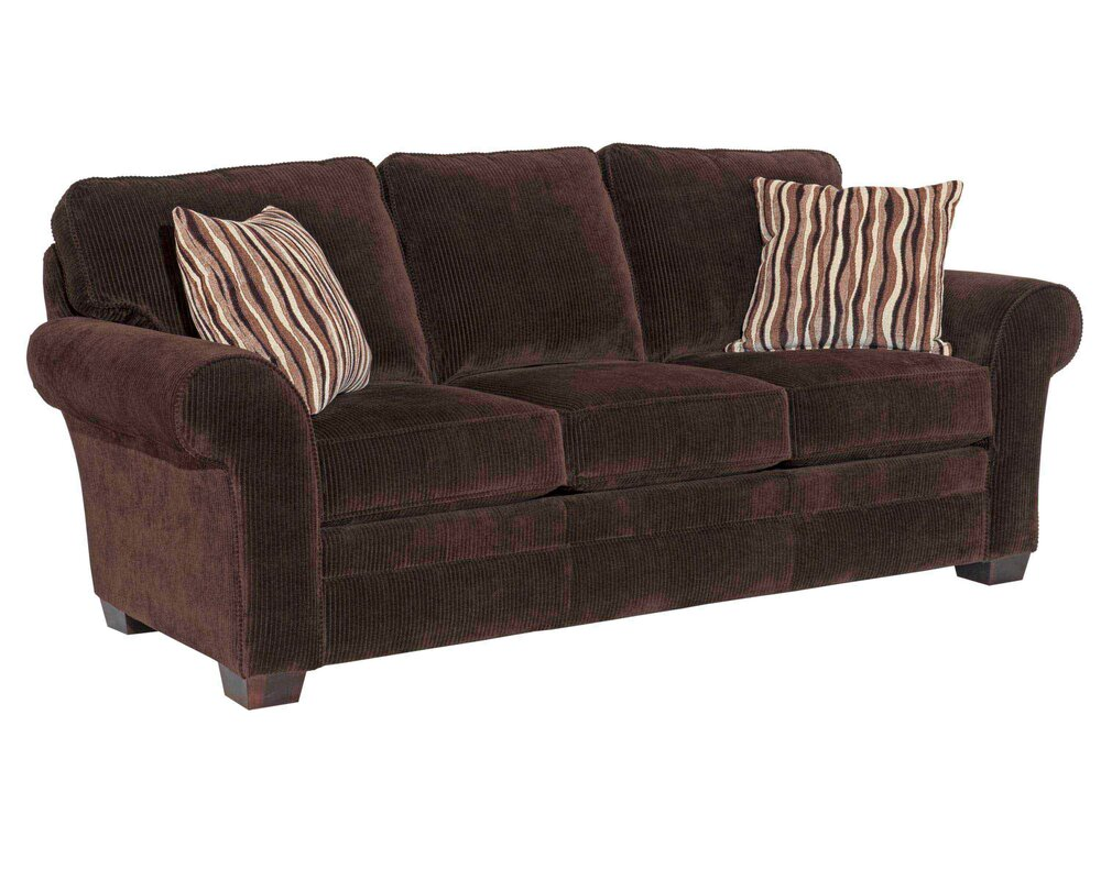 Brown Tweed Sofa Contemporary On Tufted 91 Sofa In Brown