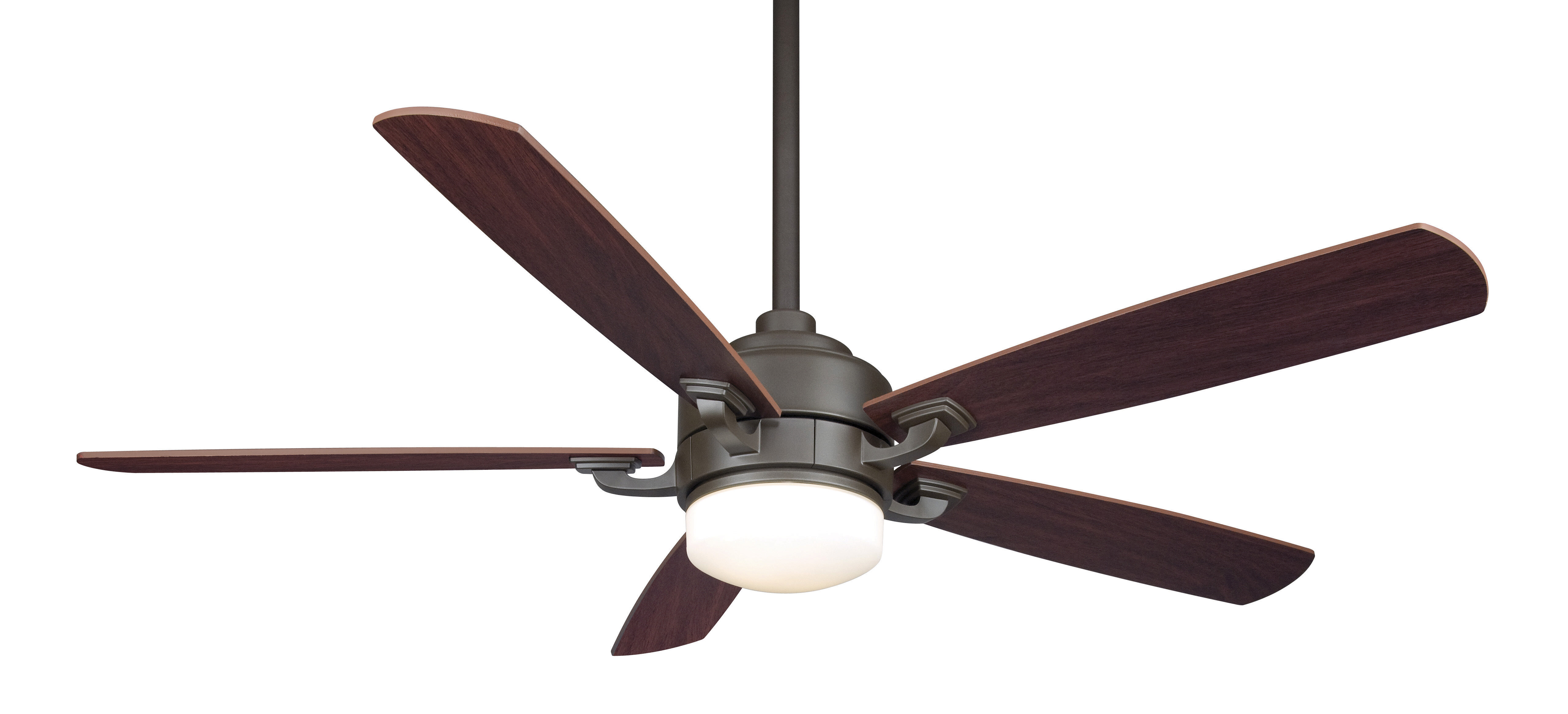 """Fanimation 52"""" Benito 5 Blade LED Ceiling Fan with Remote"""