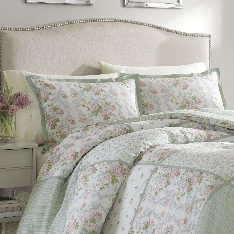 Laura Ashley Harper Comforter Set By Laura Ashley Home U0026 Reviews | Wayfair