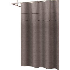 grey linen shower curtain. Oumar Linen Shower Curtain Curtains You ll Love  Wayfair