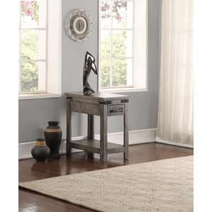 Jigna Drawer End Table by Gracie Oaks