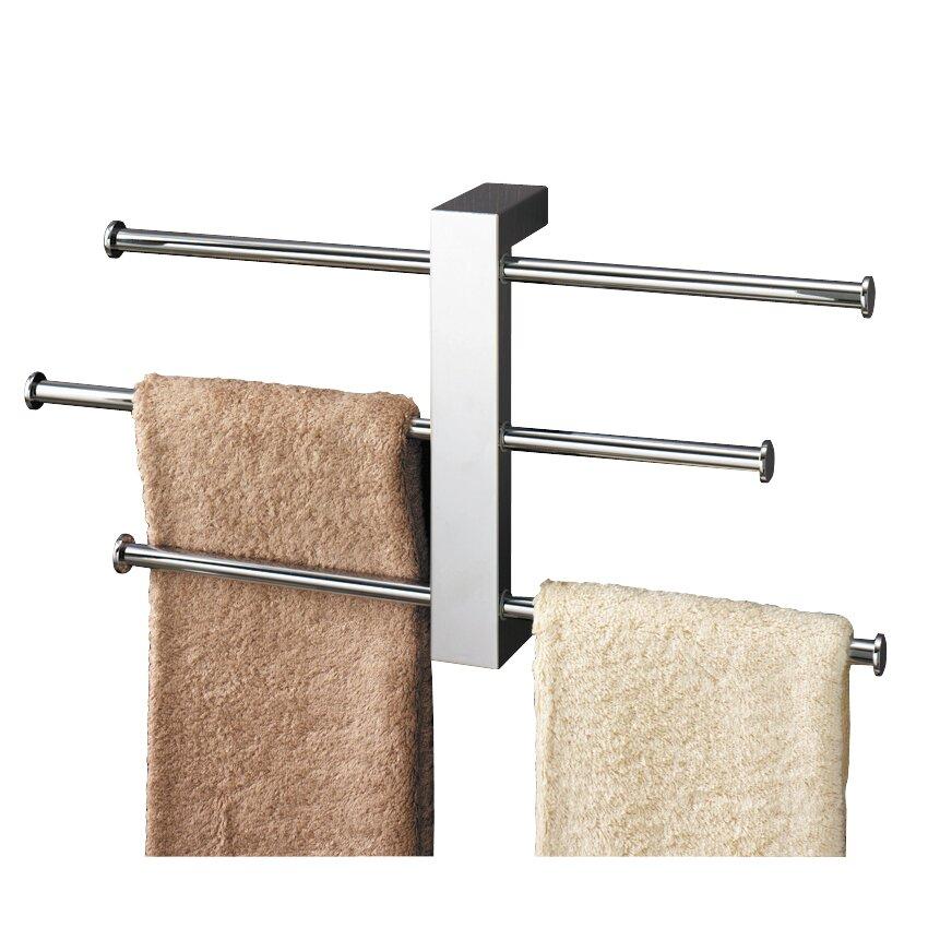 gedy wandmontierbarer 40 5 cm handtuchhalter bridge bewertungen. Black Bedroom Furniture Sets. Home Design Ideas