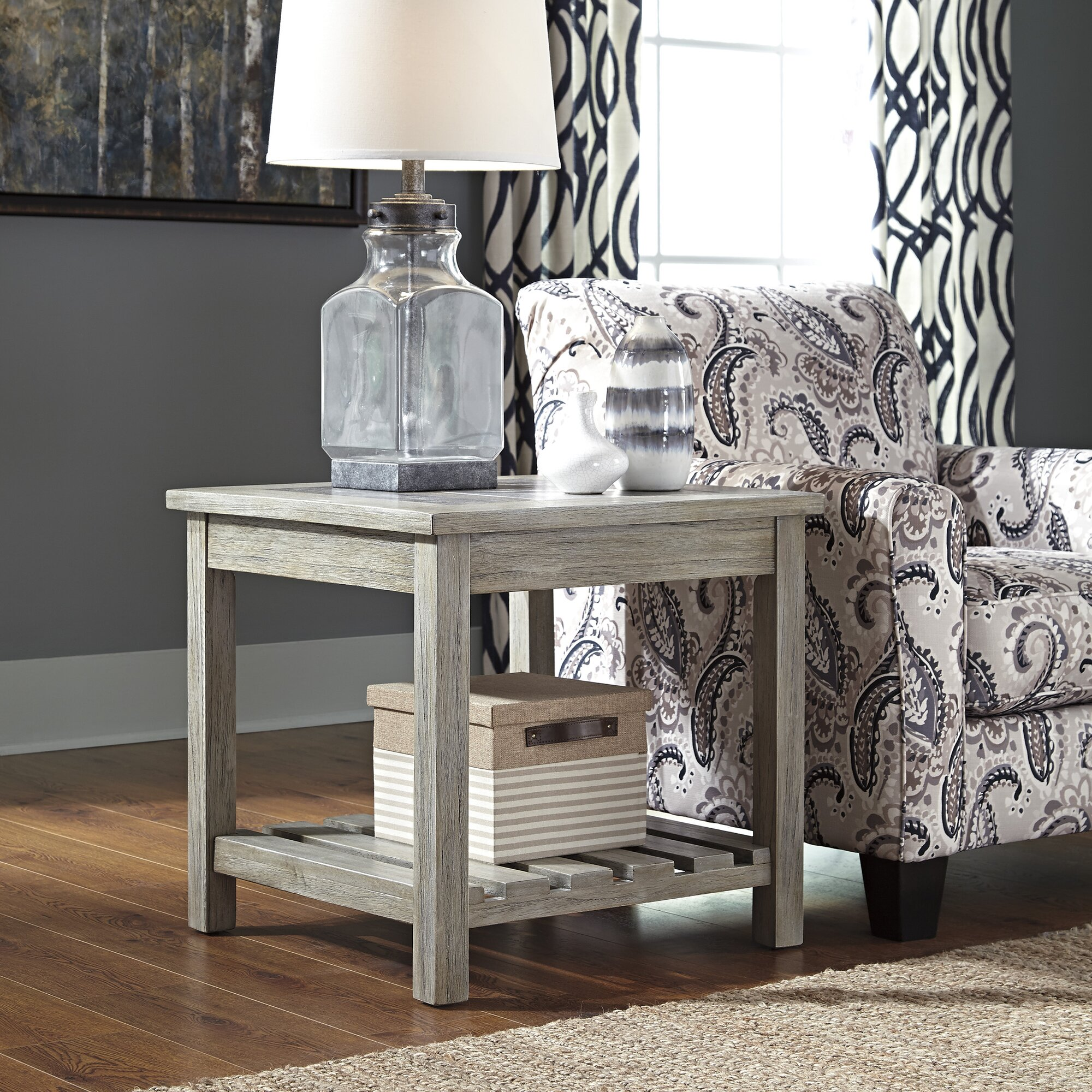 Beachcrest Home Briarwood End Table & Reviews