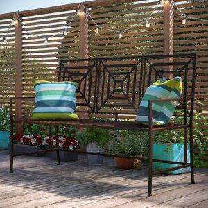2-Sitzer Gartenbank New Meadows aus Metall von Urban Facettes