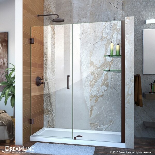 doors dreamline home product frameless shower to elegance pivot garden in free door