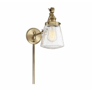 Brinley 1-Light Swing Arm