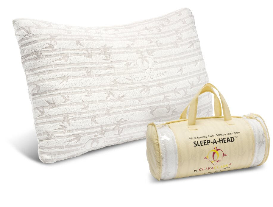 Bamboo Traditions Pillow Reviews : Clara Clark Micro Rayon from Bamboo Shredded Memory Foam Pillow & Reviews Wayfair