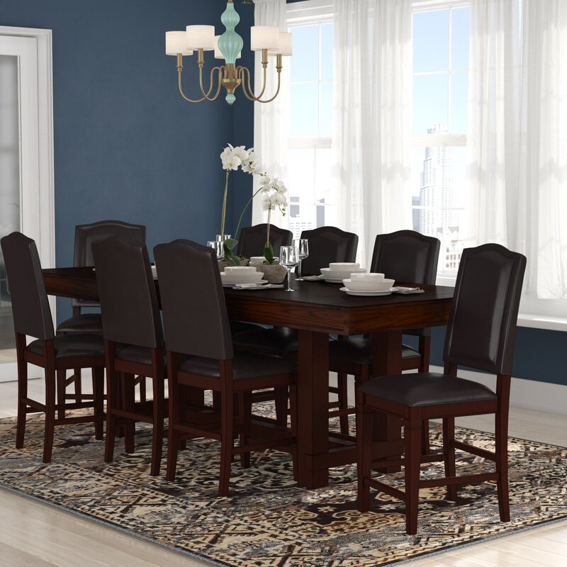 Manning 9 Piece Counter Height Dining Set