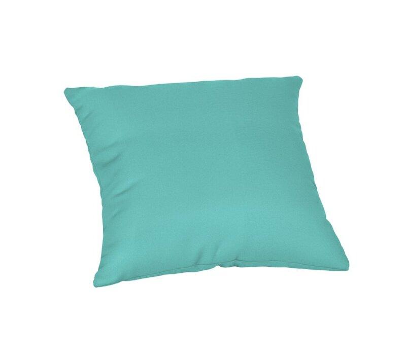 Sol 72 Outdoor Crispin Sunbrella Solid Outdoor Throw Pillow