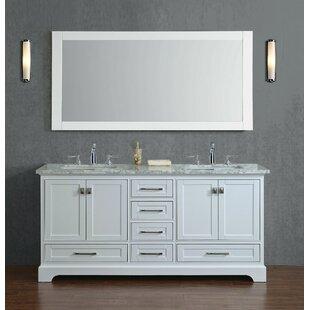 72 Inch Double Bathroom Vanities Youll Love Wayfair