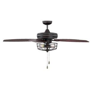 52 Glenpool 5 Blade Ceiling Fan Light Kit Included