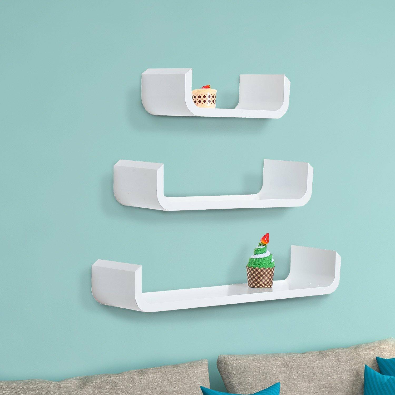 Outsunny 3 Piece Floating Shelf Set & Reviews   Wayfair.co.uk