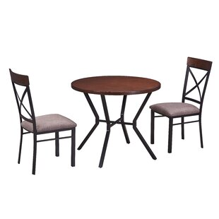 Stickles 3 Piece Breakfast Nook Dining Set