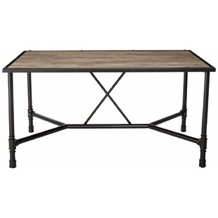 17 stories kitchen dining tables youll love wayfair croll industrial dining table by 17 stories watchthetrailerfo
