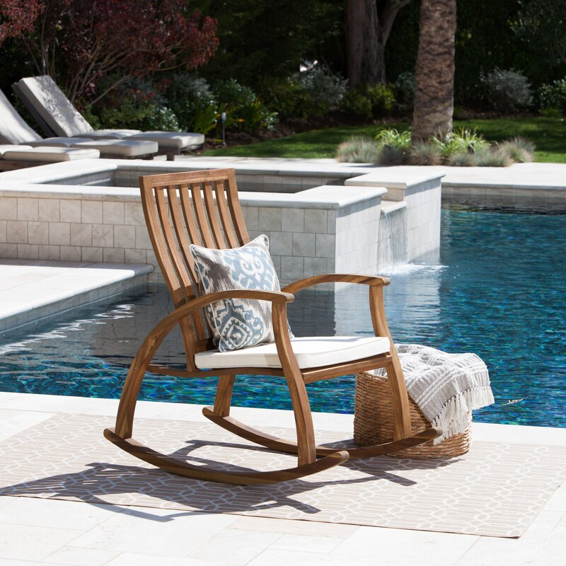 Perfect Labarre Outdoor Rocking Chair