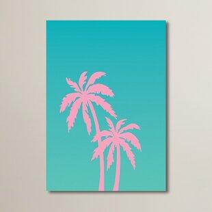 Palm Tree Graphic Art
