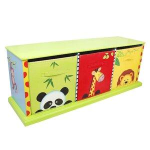 Sunny Safari Portable 3 Compartment Cubby