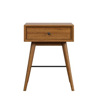 Andersen End Table With Storage
