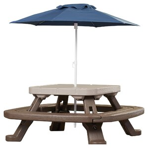 Endless Adventures Fold U0027n Store Umbrella Picnic Table