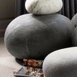 Awesome Stone Felted Wool Floor Pillow Amazing Design