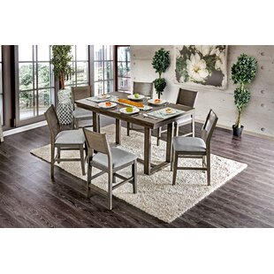 Charmant Andy 7 Piece Counter Height Dining Set