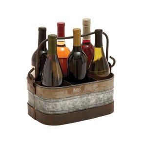 6 Bottle Tabletop Wine Bottle Rack by Cole & Grey