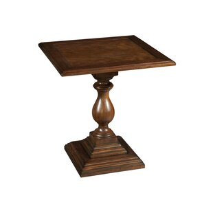 Superior Vintage European Pedestal End Table