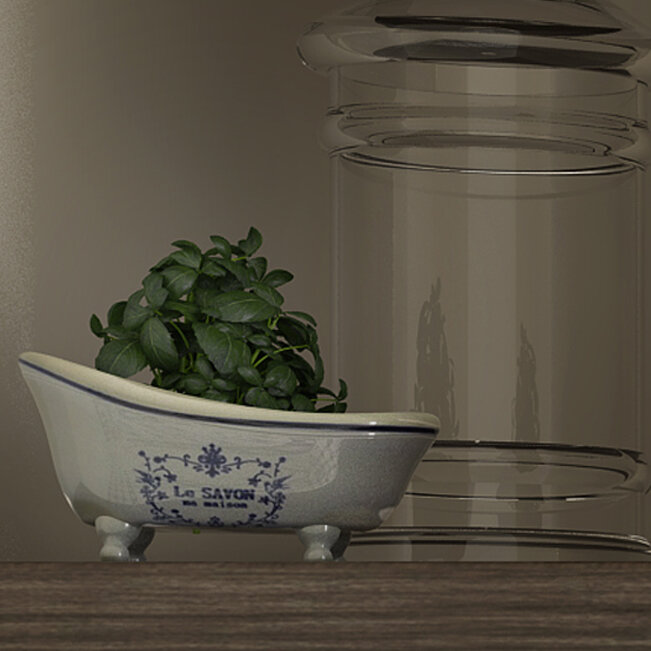 Kingston Brass Le Savon Aqua Eden Decorative Mini Bathtub Soap Dish ...