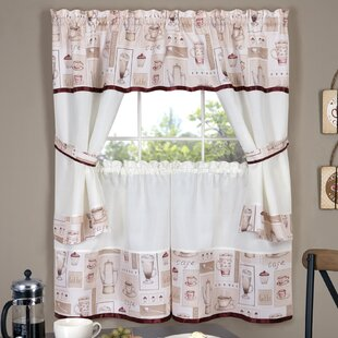Surprising 38 Inch Curtains Kitchen Wayfair Home Remodeling Inspirations Genioncuboardxyz