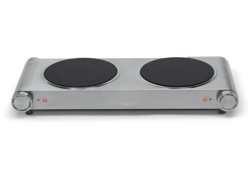 Electric cooktop Portable Wayfair Salton Portable 21