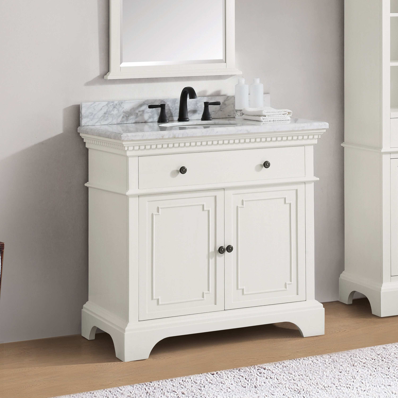 ophelia co ruthann marble top 37 single bathroom vanity set rh wayfair com marble top bathroom vanity uk marble top bathroom vanity uk