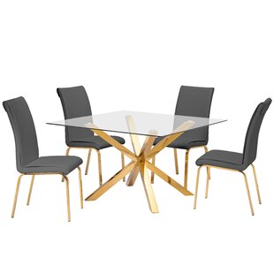 Villarreal 5 Piece Dining Set