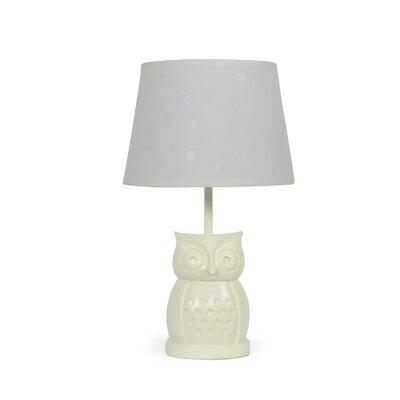 The peanut shell owl stella 175 table lamp wayfair owl starlight 165 table lamp aloadofball Choice Image