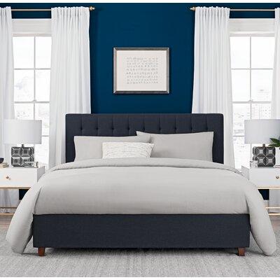 queen size upholstered beds you 39 ll love wayfair. Black Bedroom Furniture Sets. Home Design Ideas