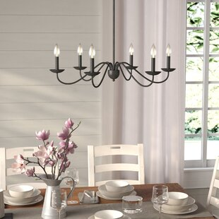 Exceptional Farell 6 Light Chandelier