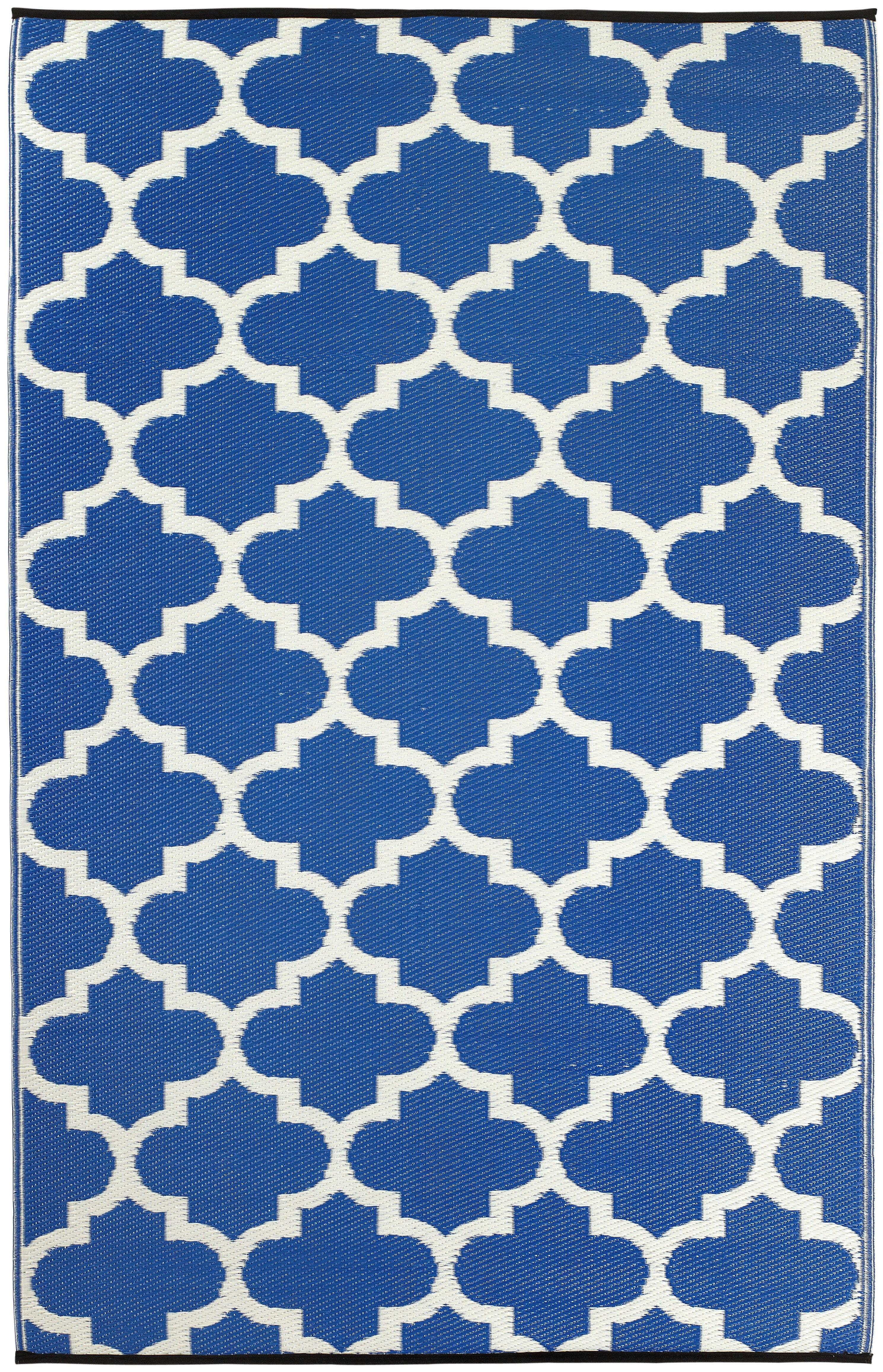 Andover Mills Martina Tangier Regatta Blue White Indooroutdoor