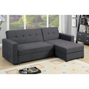 sc 1 st  Wayfair : sectional sleeper sofa with chaise - Sectionals, Sofas & Couches