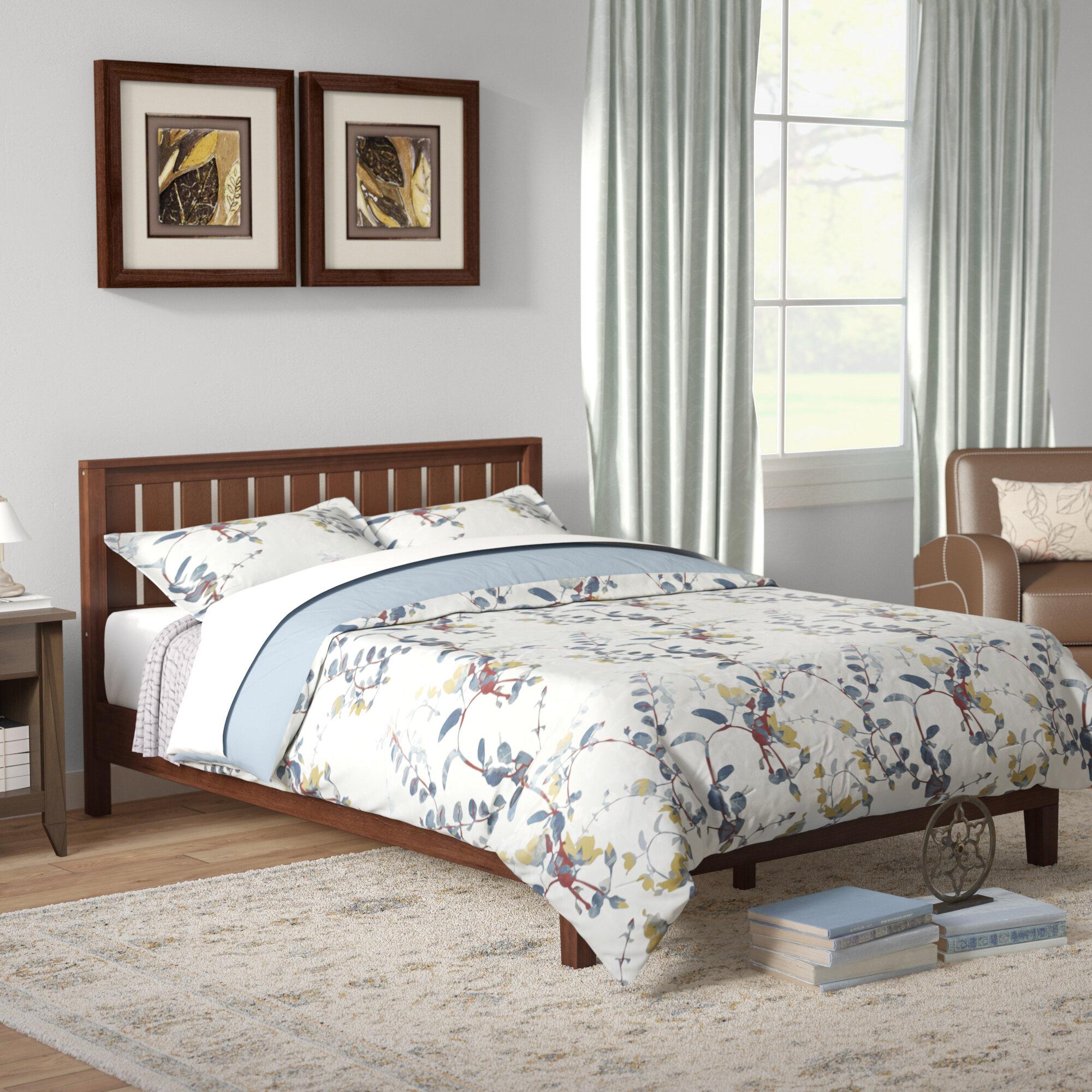 Winston Porter Shaunte Solid Wood Platform Bed Reviews Wayfair