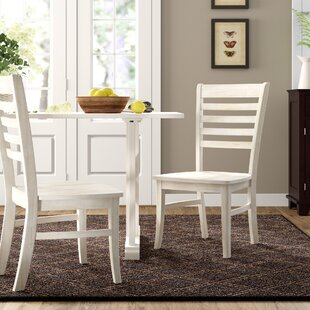 Elwes Solid Wood Dining Chair (Set of 2)