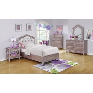 Whitney 7 Piece Bedroom Set by Viv + Rae