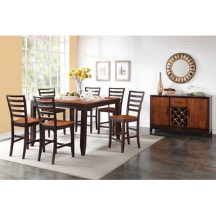 Lannon Contemporary Solid Wood Dining Table 2019 Coupon