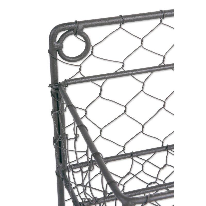 Rebrilliant 2 Row Chicken Wire Wide Spice Rack