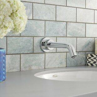 Serin Wall Mounted Bathroom Faucet Less Handle
